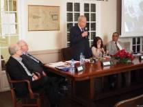 I. William Zartman makes remarks