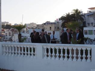 Reception on the Terrace