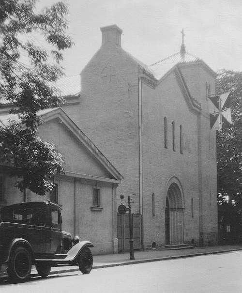 St. Dominikus kirke anno 1937