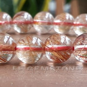 Red Needle Rutile Quartz
