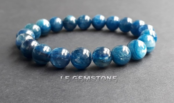 Kyanite Stretch Bracelet 8mm