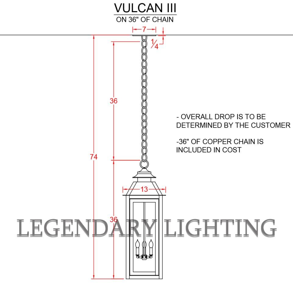 Vulcan 3 Chain