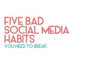bad social media habits - legendary social media vancouver