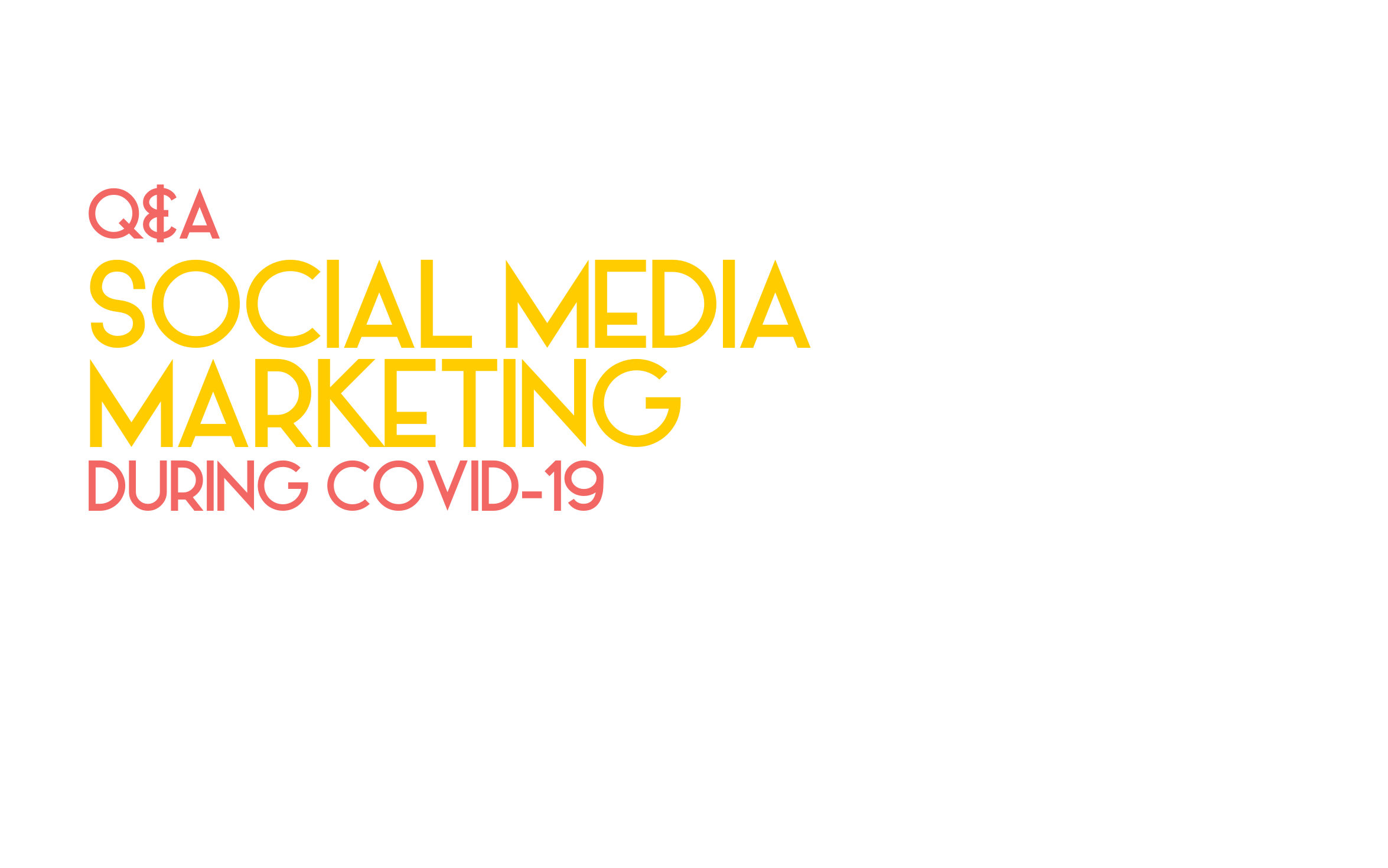 Q&A: What should you do with your social media marketing if your business is closed during the COVID pandemic?