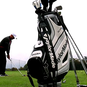 Custom printed TaylorMade Golf merchandise and accesories