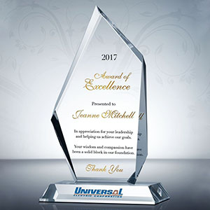 Employee Recognition Award - Promotional Products