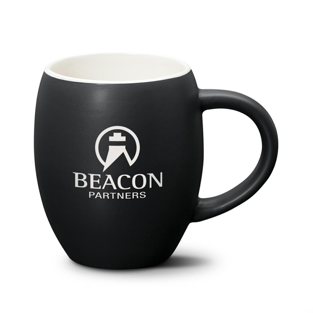 Black Custom Coffee Mug with Logo - Promotional Product