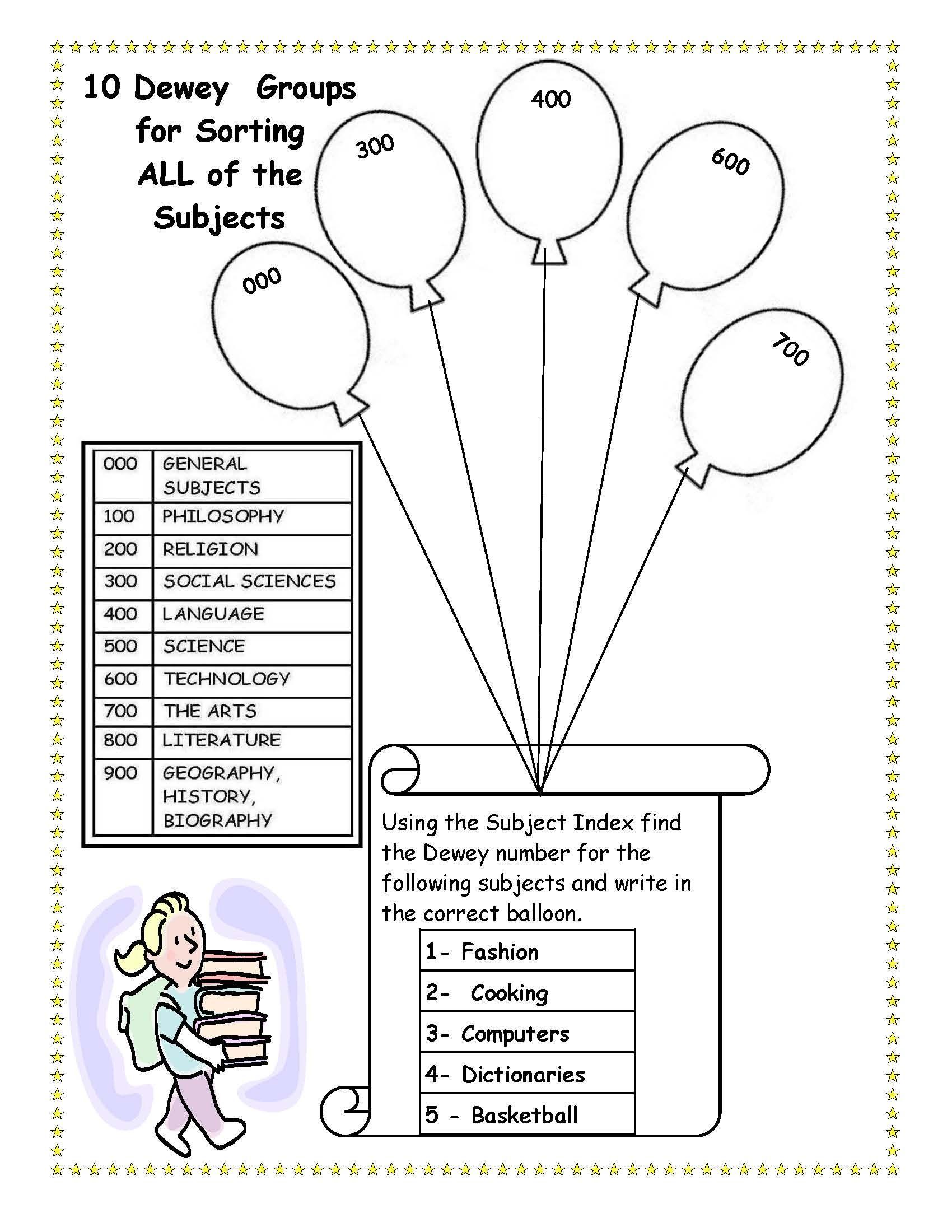 Free Life Skills Worksheet