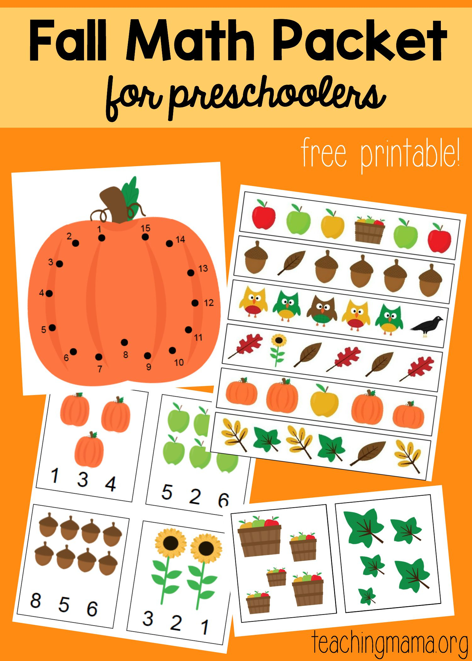 Odd And Even Double Digit Fall Math Worksheet Printables