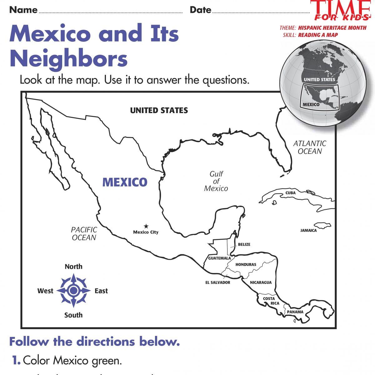 Hispanic Heritage Month Printable Worksheets