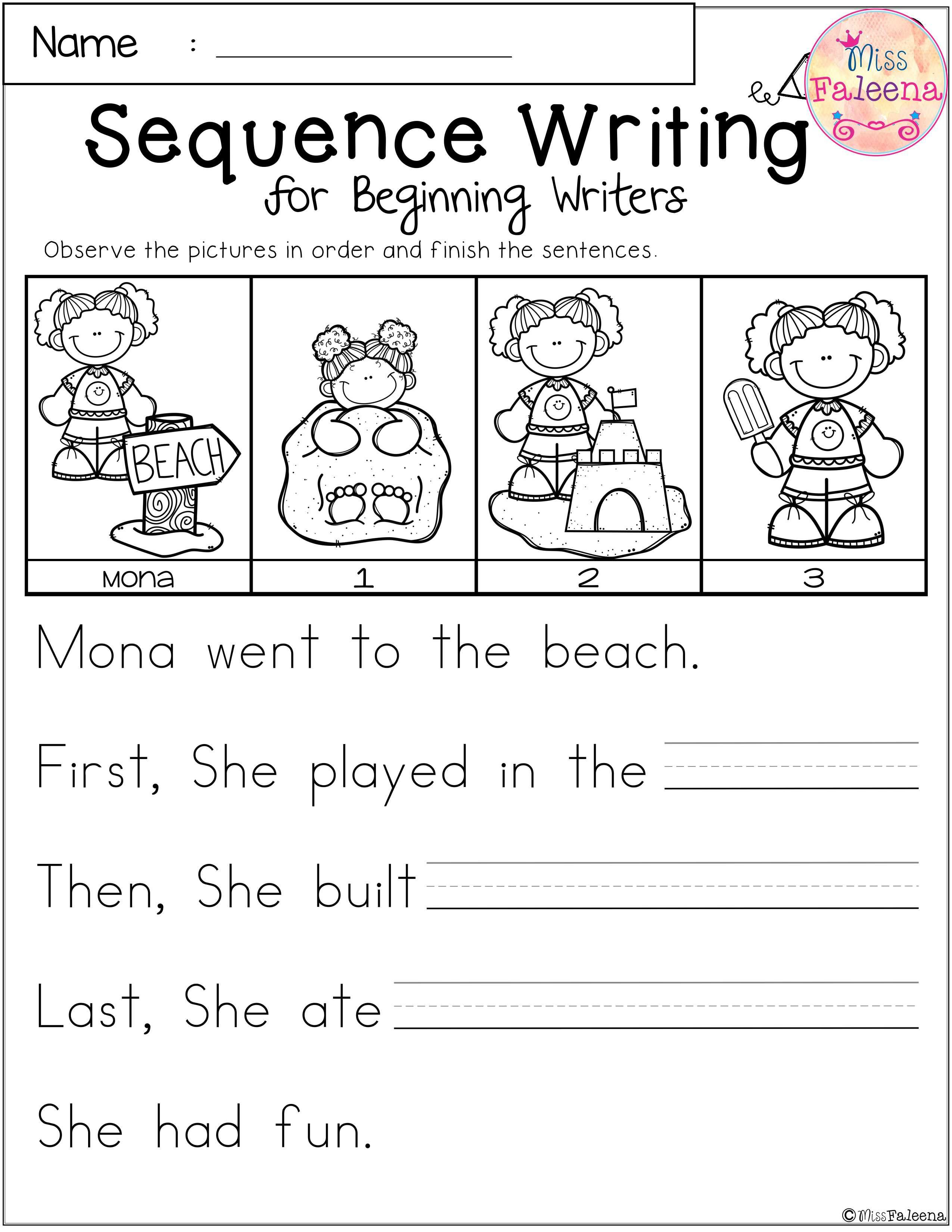 Free Printable Sequencing Worksheets For 1st Grade