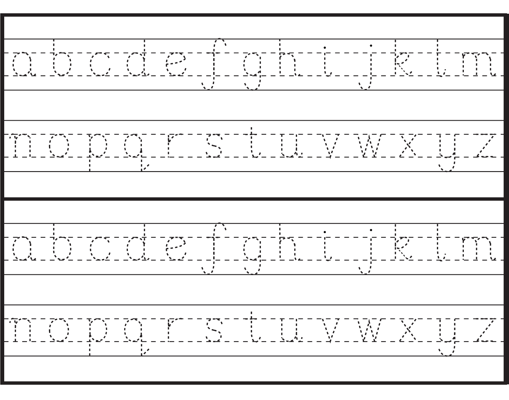 Printable Printing Worksheets