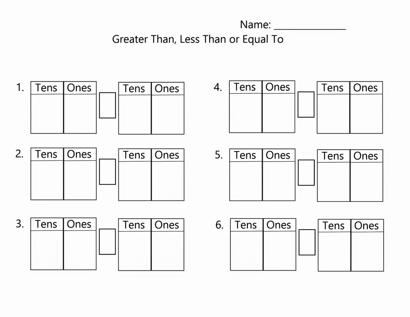 1st Grade Math Worksheets Counting1s 5s And 10s