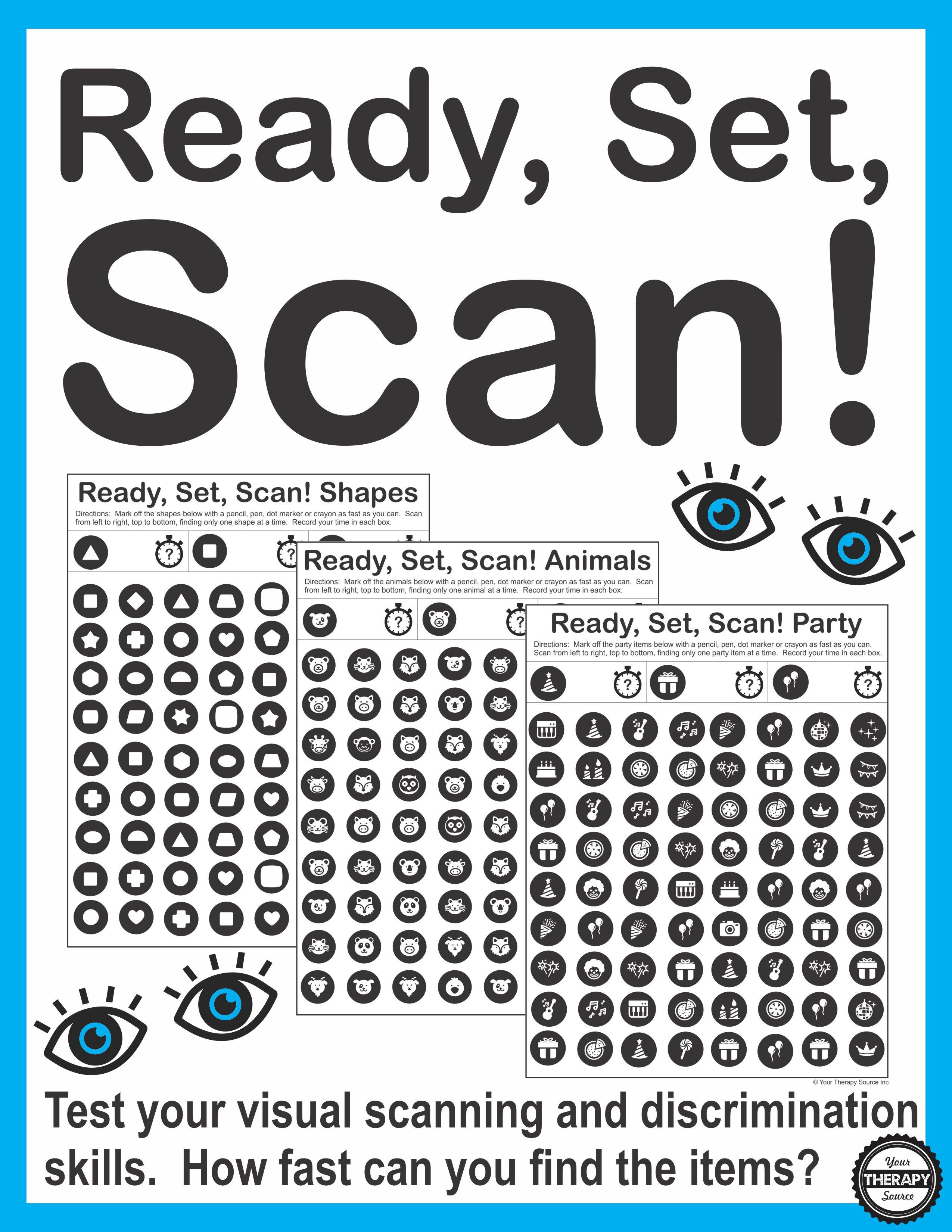 Visual Scanning Exercises