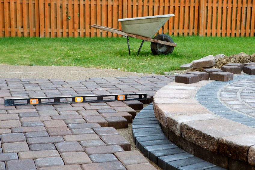 what is the cheapest way to make a patio