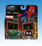 Marvel Minimates Ultimate Spider-Woman Variant and Vault Guardsman
