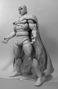 Marvel Select Magneto Sculpt