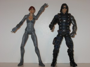 Black Widow and Winter Soldier variants
