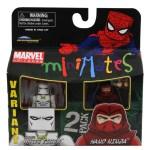 Marvel Minimates Series 38 Classic White Tiger Variant and Hand Ninja