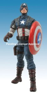 Marvel Select Captain America First Avenger Movie Figure