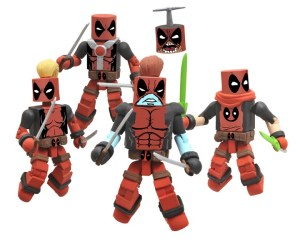 NYCC 2011 Deadpool Corps Box Set Exclusive