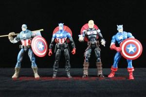 Return of Marvel Legends Wave 2 Heroic Age Captain America Comparison