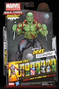 The Return of Marvel Legends Wave Two Drax Package Rear
