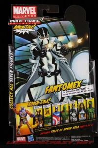 The Return of Marvel Legends Wave Two Fantomex Package Rear