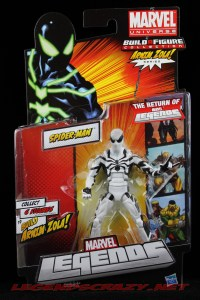 The Return of Marvel Legends Wave Two Spider-Man Future Foundation Variant Package Front