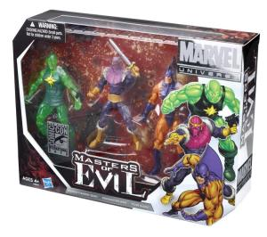 Hasbro Marvel Universe Masters of Evil Box Set SDCC 2012 Exclusive