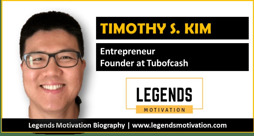 timothy s. kim bio