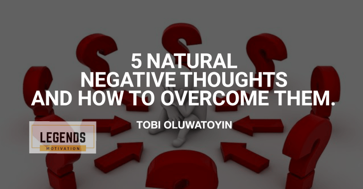 overcome negative thoughts