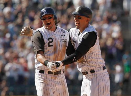 Rockies - Tulowitzki and Gonzalez