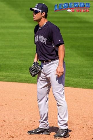 Garrett Jones went 2 for 4 on Friday night and scored a run to help the Yanks win 3-2. (Gabe Rodriguez)