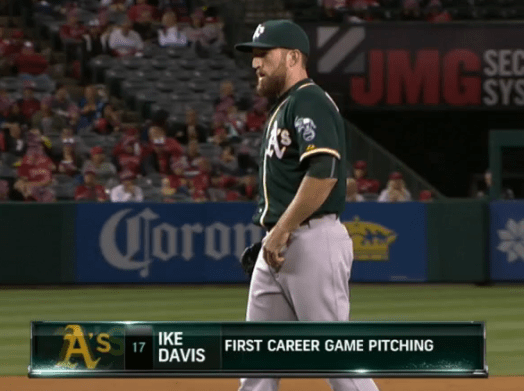 Ike Davis  - Pitching