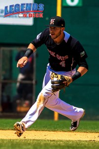 Shortstop prospect Trevor Story had two hits. (Gabe Rodriguez)