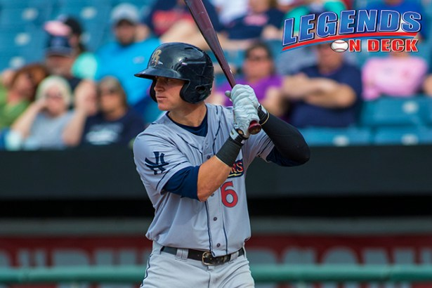 Ben Gamel of the Scranton/WB RailRiders Photo by Gabe Rodriguez/Legends on Deck