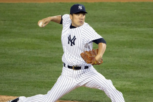 Masahiro Tanaka dealt a gem on Friday night at Tropicana Field. Photo Courtesy of Anthony J. Causi/AP