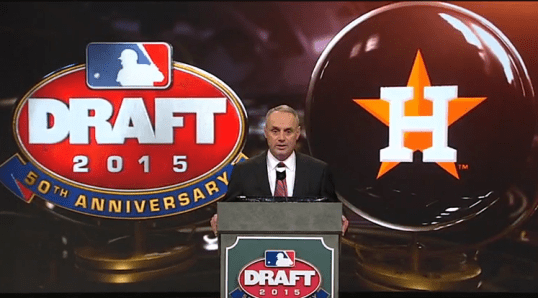 Draft Day Astros