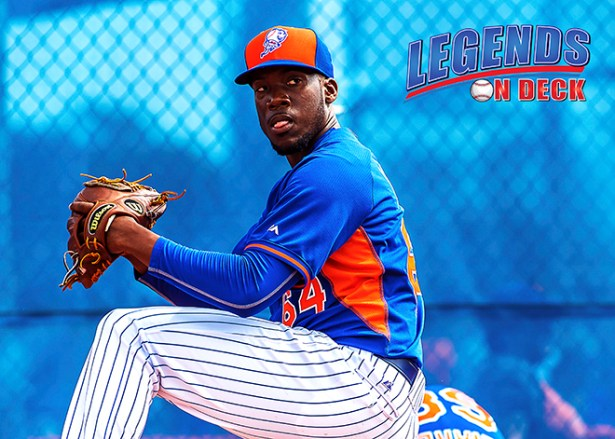 The Mets traded RHP Akeel Morris to the Atlanta Braves. (Photo: Gabe Rodriguez)