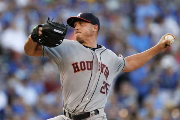 Scott Kazmir made his debut with the Houston Astros after being traded from the A's.  (mlb.com)