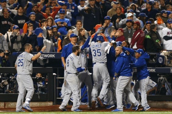 Royals win title