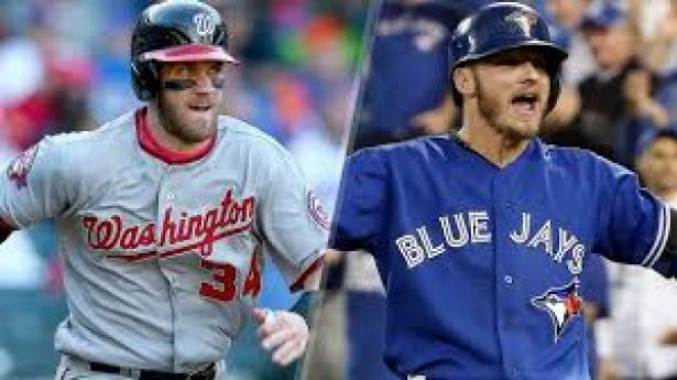 The Nationals' Bryce Harper and Blue Jays' Josh Donaldson have both been named the 2015 MVP Winners.  (foxsports.com)
