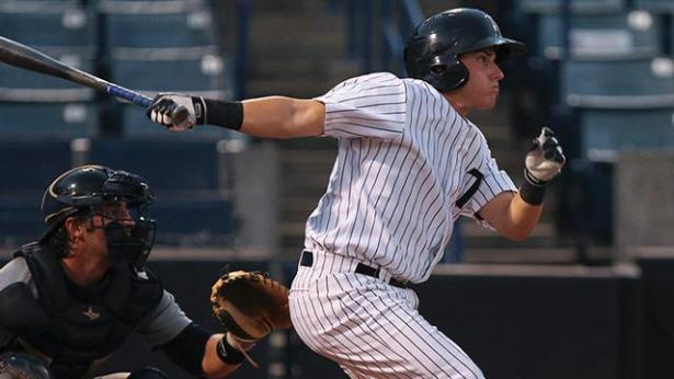 Tampa Yankees' outfielder MArk Payton was named the FSL Player of the Week. (Photo: milb.com/MarkLoMoglio)