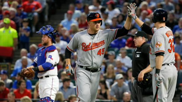 Mark Trumbo was named one of the Players of the Week for the week ending April 17, 2016. (Photo: espn.com)