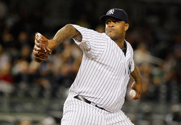 LHP CC Sabathia took the start for the Yankees on Friday night. (Photo: www.yankees.com)