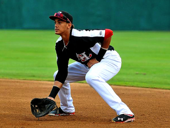 Texas Rangers' Ronald Guzman.