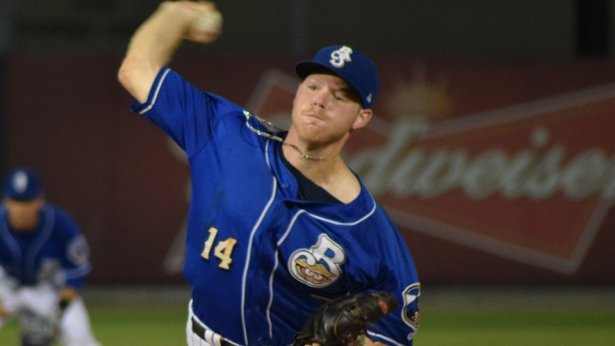Brewers' prospect RHP Brandon Woodruff of the Biloxi Shuckers. (Photo:milb.com)