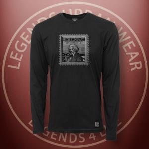 Legends Frederick Douglass Black Long Sleeve Shirt FRONT