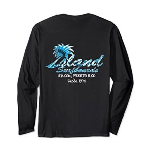 Island Surfboard Long Sleeve T-Shirt